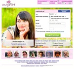 La página inicial de Easyflirt.es