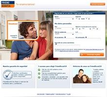 La página inicial de FriendScout24.es -