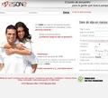 La página inicial de 2son2.com