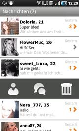 Captura de pantalla de FriendScout24 App