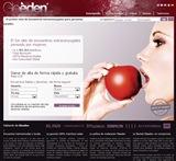 La p�gina inicial de Gleeden.com