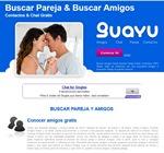 La página inicial de guayu