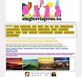 Captura de pantalla de Singlesviajeros.es